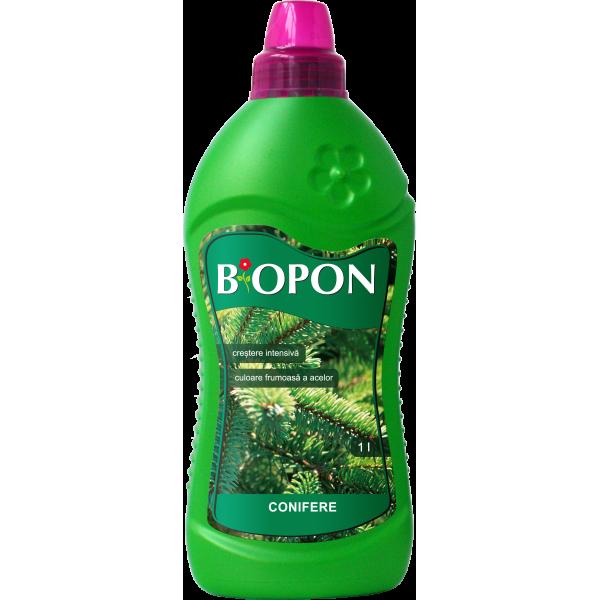 Ingrasamant lichid pentru conifere, 1 litru, Biopon