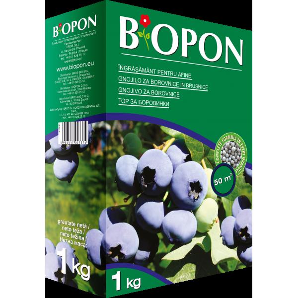 Ingrasamant granulat pentru afine, 1 kg, Biopon