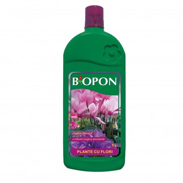 BIOPON - ingrasamant plante cu flori 1 l