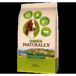 IAMS, mancare naturala pt. caini adulti cu miel si orez, 2,7 Kg