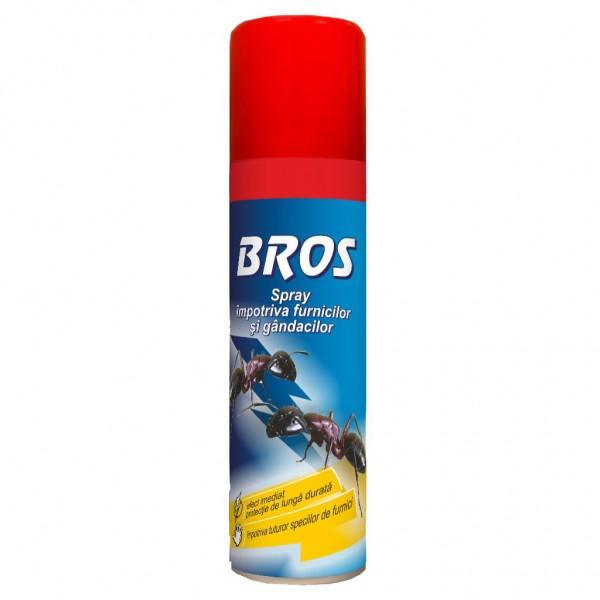 Spray impotriva furnicilor si gandacilor, 150 ml, Bros