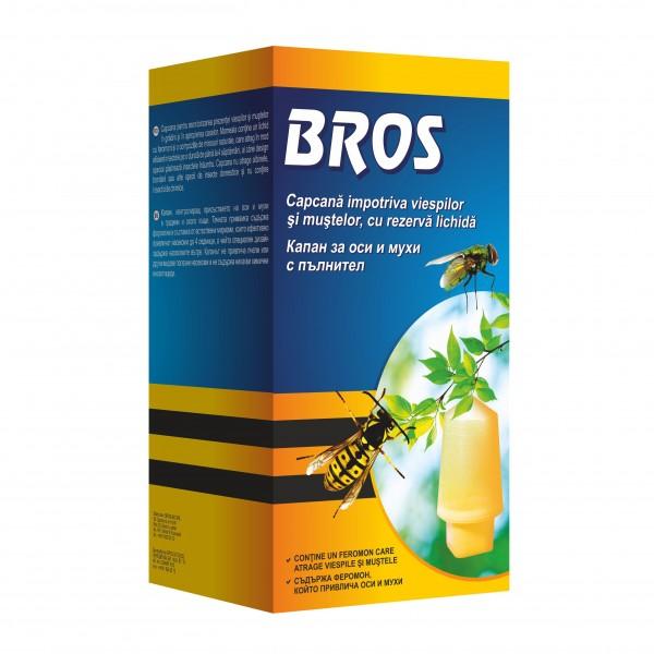 Capcana pentru viespi cu rezerva lichid,  200 ml, Bros