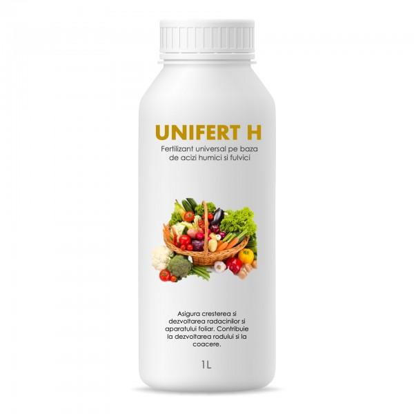 Fertilizant universal pentru toate tipurile de culturi vegetale Unifert H, 1 litru, SemPlus