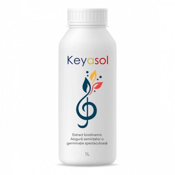 Extract biodinamic pentru stimularea germinatiei semintelor de legume, Keyasol, 1 litru, SemPlus