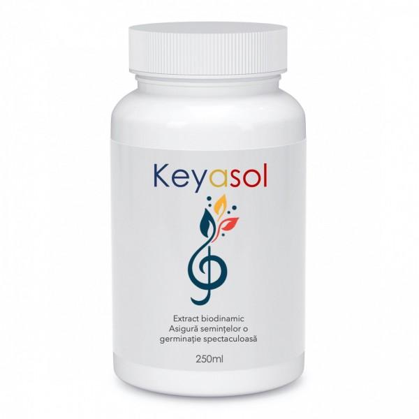 Extract biodinamic pentru stimularea germinatiei semintelor de legume, Keyasol, 250 ml, SemPlus