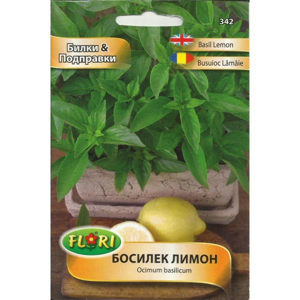 Seminte de busuioc lemon, Florian