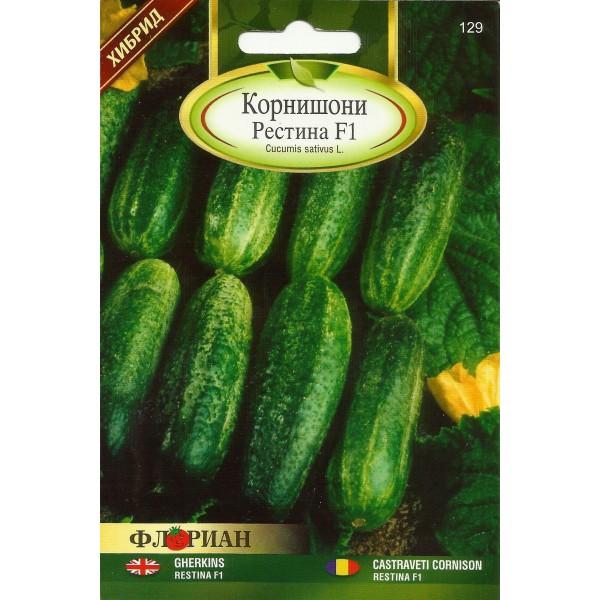 Seminte de castraveti cornichon Restina F1, Florian, 1,5 grame