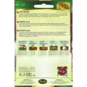 Seminte de ceapa Lilia, Florian, 2 grame