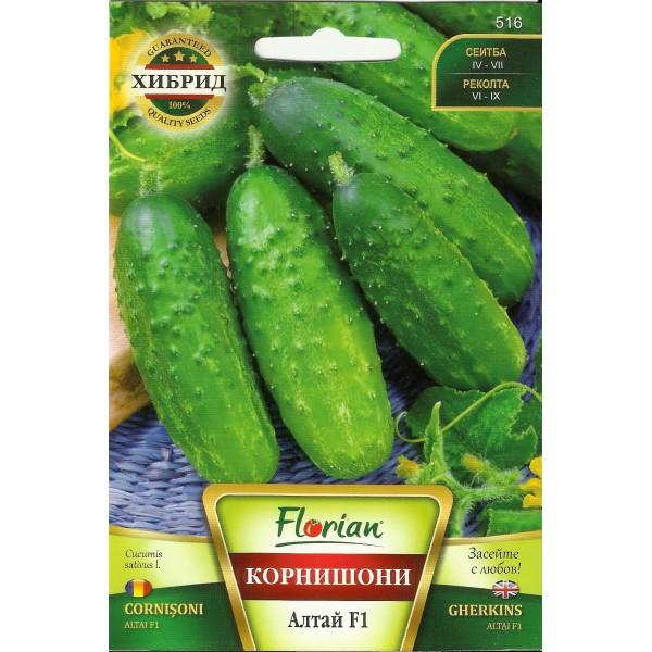 Seminte de castraveti cornichon Altai F1, Florian, 1,5 grame