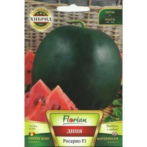 Seminte de pepene verde Rosario F1, Florian, 1 gram