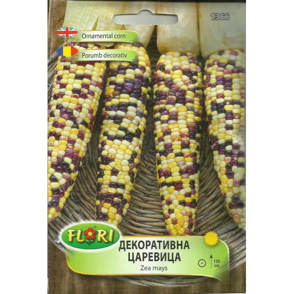 Seminte de porumb decorativ multicolor, Florian