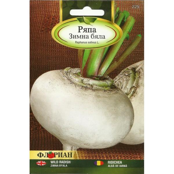 Seminte de ridichi albe de iarna Snowball, Florian, 10 grame