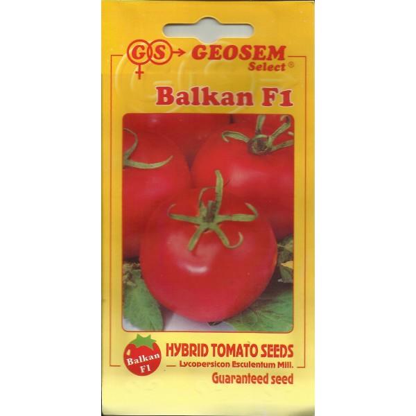 Seminte de tomate Balkan F1, Geosem Select, 2500 seminte
