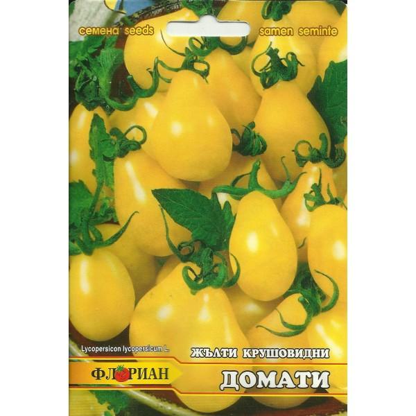 Seminte de tomate cherry prunisoare galbene, Florian, 0,5 grame