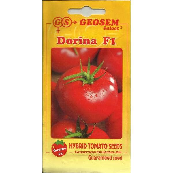 Seminte de tomate Dorina F1, Geosem Select, 1 gram