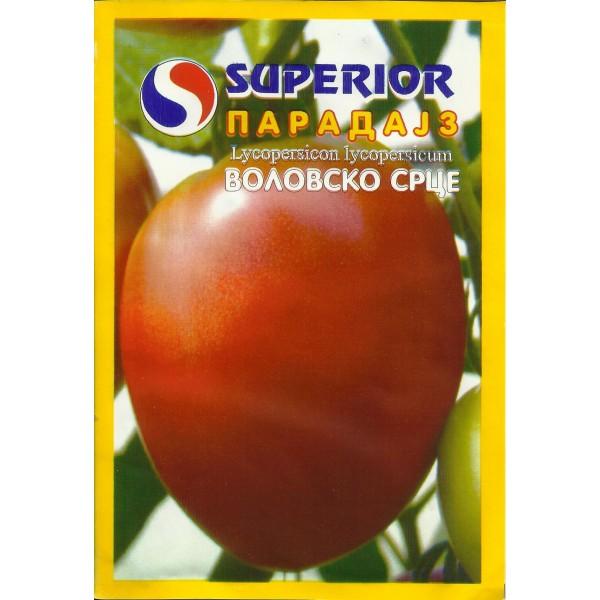 Seminte de rosii sarbesti semitimpurii nedeterminate inima de bou - 0,5 grame