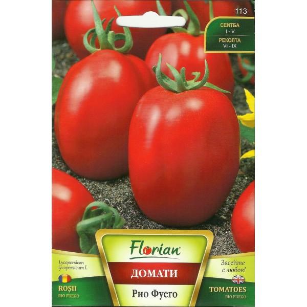 Seminte de tomate prunisoare Rio Fuego, Florian, 1 gram