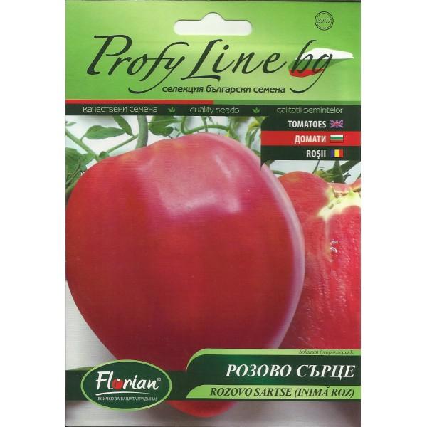 Seminte de tomate roz Rozovo Sartse, 0,2 grame