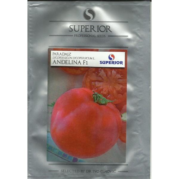 Seminte de tomate roz Angelina F1, 1 gram, Superior Seeds