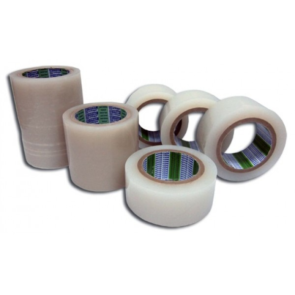 Banda adeziva pentru reparatii sere si solarii, tratata UV, latime 7,5 cm, lungime 25 metri