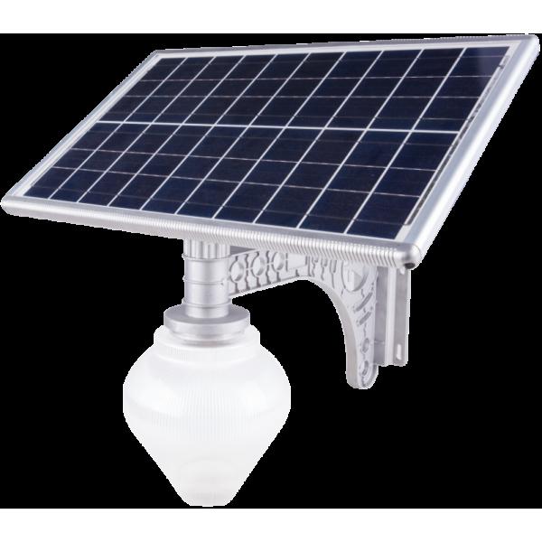 Lampa tip led cu incarcare solara, putere 10 Wati, Evotools