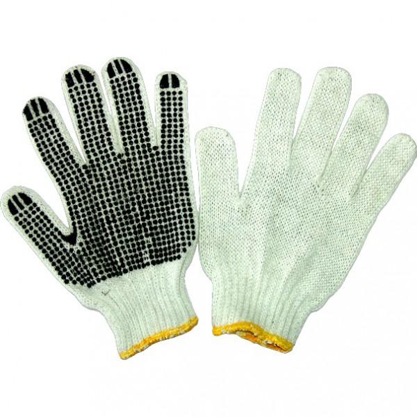 Manusi pentru gradina, punct negru, tricotate, lungime 10 inch, Evotools