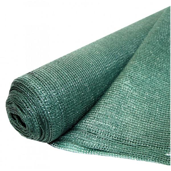 Plasa Umbrire Verde HDPE UV / lungime 1 metru; latime: 2 metri; grad de umbrire 95%