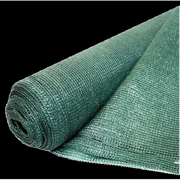 Plasa Umbrire verde HDPE, UV, lungime 20 metri, latime 2 metri, grad de umbrire 95%