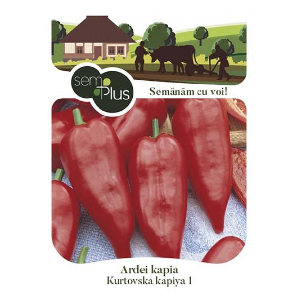 Seminte de ardei kapia Kurtovska, 1 gram, SemPlus