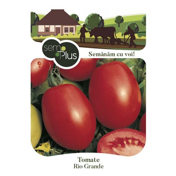 Seminte de tomate Rio Grande, 1 gram, SemPlus