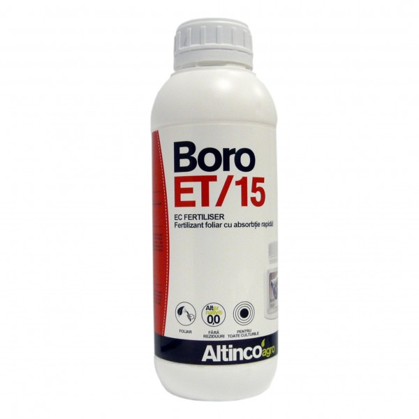 Ingrasamant lichid foliar cu bor Boro-ET, 1 litru