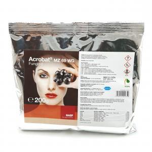 Fungicid Acrobat MZ 90/600 WP, 200 grame, Basf