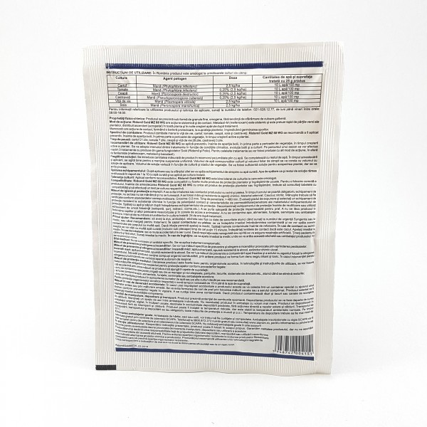 Fungicid Ridomil Gold MZ 68 WG, 25 grame, Syngenta
