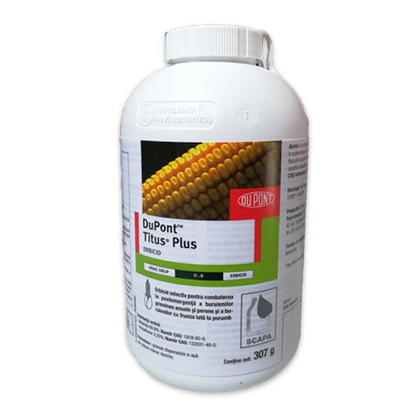 Erbicid Titus Plus, 307 grame +  adjuvant Trend 90 - 250 ml, Dupont