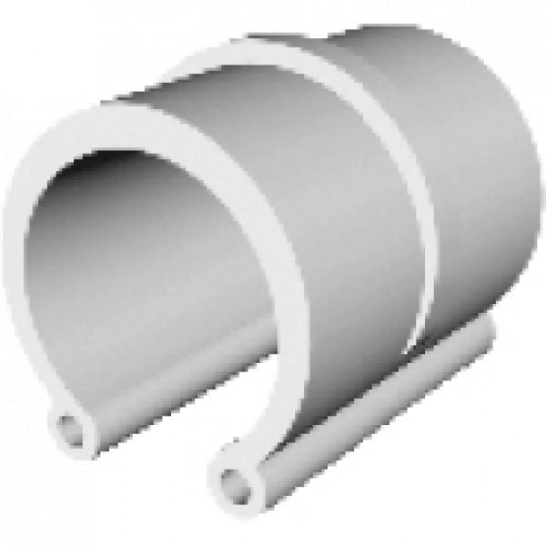 Clips prindere folie solar, diametru 3/4 inch, lungime 3,9 cm, Palaplast