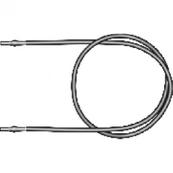 Microtub din PVC pentru microaspersoare, lungime 100 cm, Palaplast