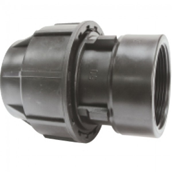 Racord compresie pentru irigatii, filet interior, diametre 20 mm x 3/4 inch, Palaplast