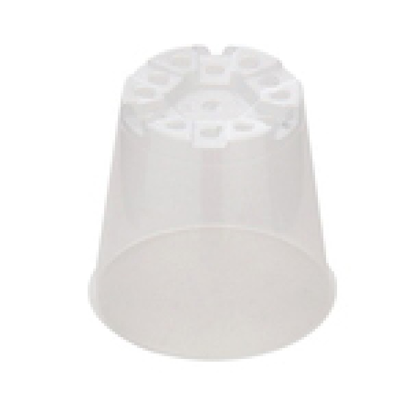 Ghivece de lucru rotunde pentru rasaduri, seria MPB, culoare transparent, diametru 6 cm, Teku