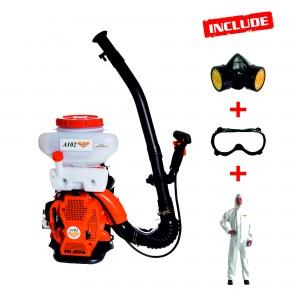 Atomizor Ruris A102, 2.9 CP, motor TEZ, 2 timpi, 1.4 l, benzina, accesorii incluse