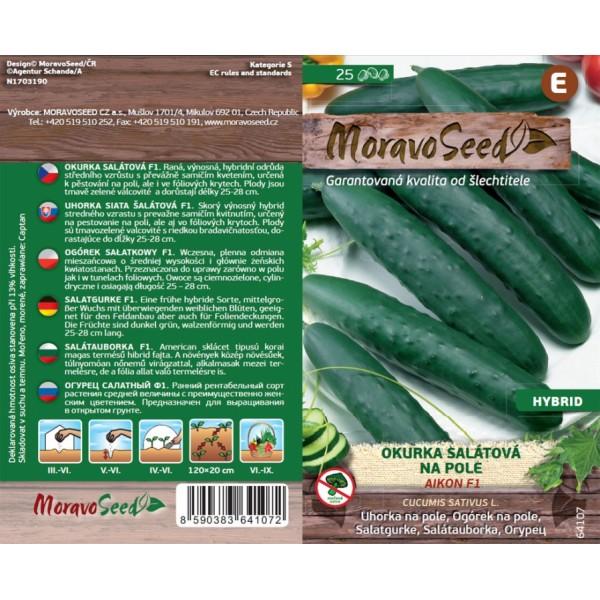 Seminte de castraveti Aikon F1, 25 seminte, Moravo Seed
