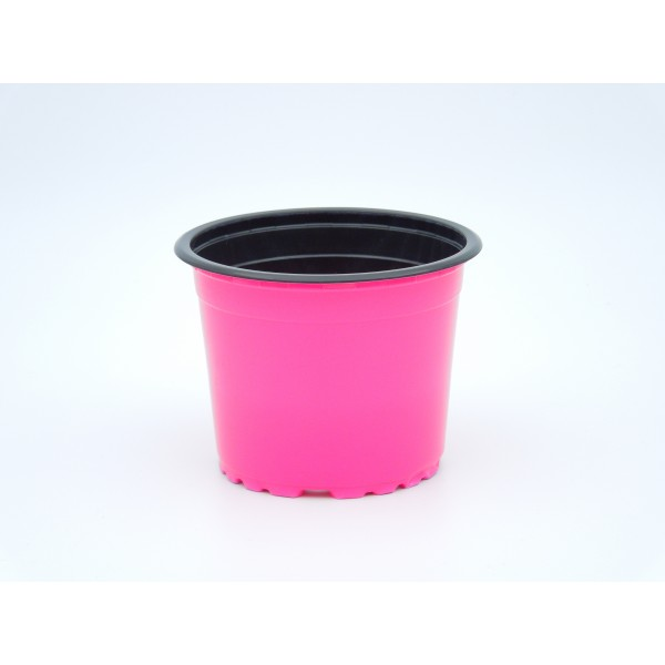 Ghivece de lucru rotunde VCG 9, culoare roz
