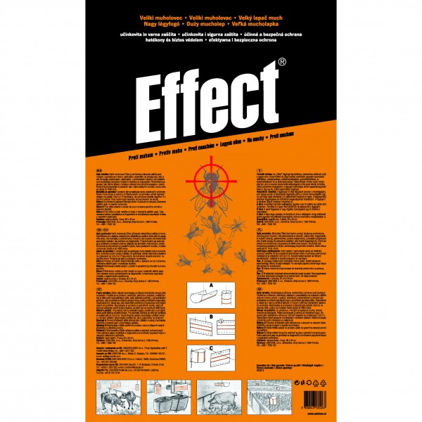 Effect, capcana mare muste (4bucati 34x60 cm) 4buc/cutie