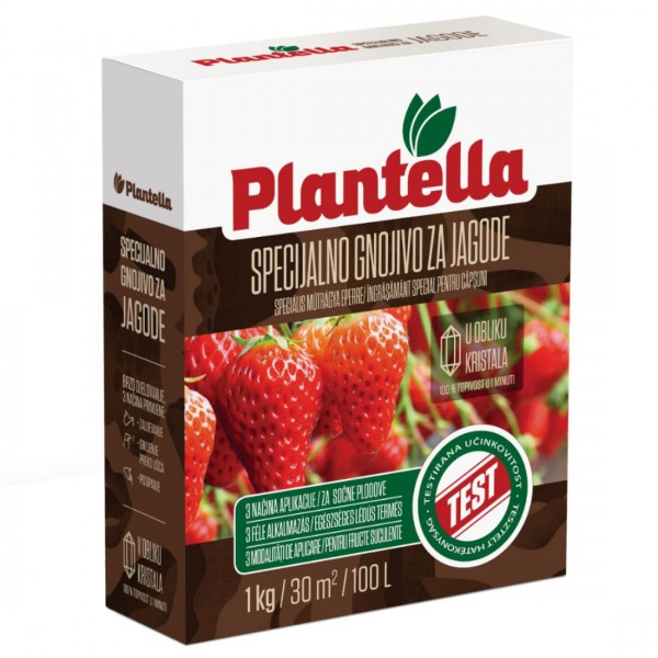 Ingrasamant special pentru plante cu fructe moi, capsuni/zmeura/mure , 1 Kg