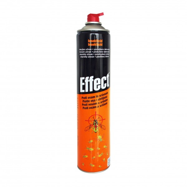 Spray aerosol impotriva viespilor, Effect, 400 ml