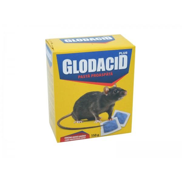 Glodacid plus, pasta bait pentru soareci si sobolani, 150 grame