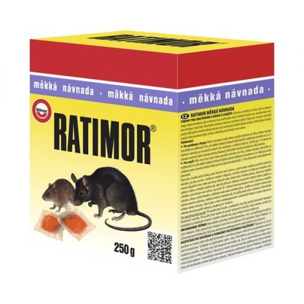 Ratimor, pasta proaspata pentru soareci si sobolani, 120 grame