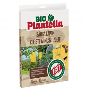 Placi adezive galbene, Bio Plantella, 10 bucati