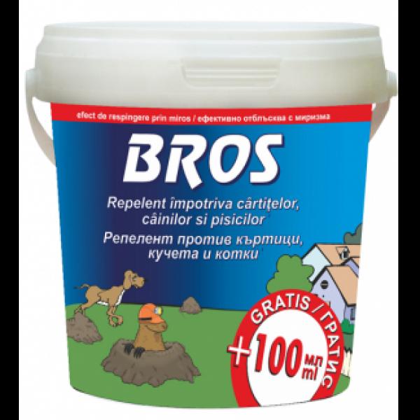 Repelent impotriva cainilor, pisicilor si cartitelor 350 ml + 100 ml extra, Bros